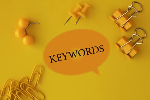 Keywords, Technology Concept